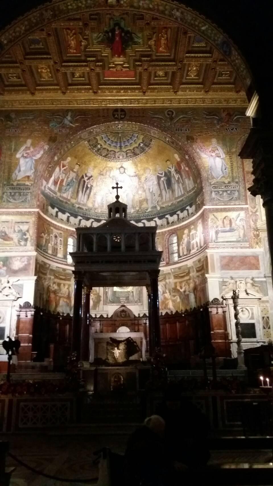 サンタ・マリア・イン・トラステヴェレ教会