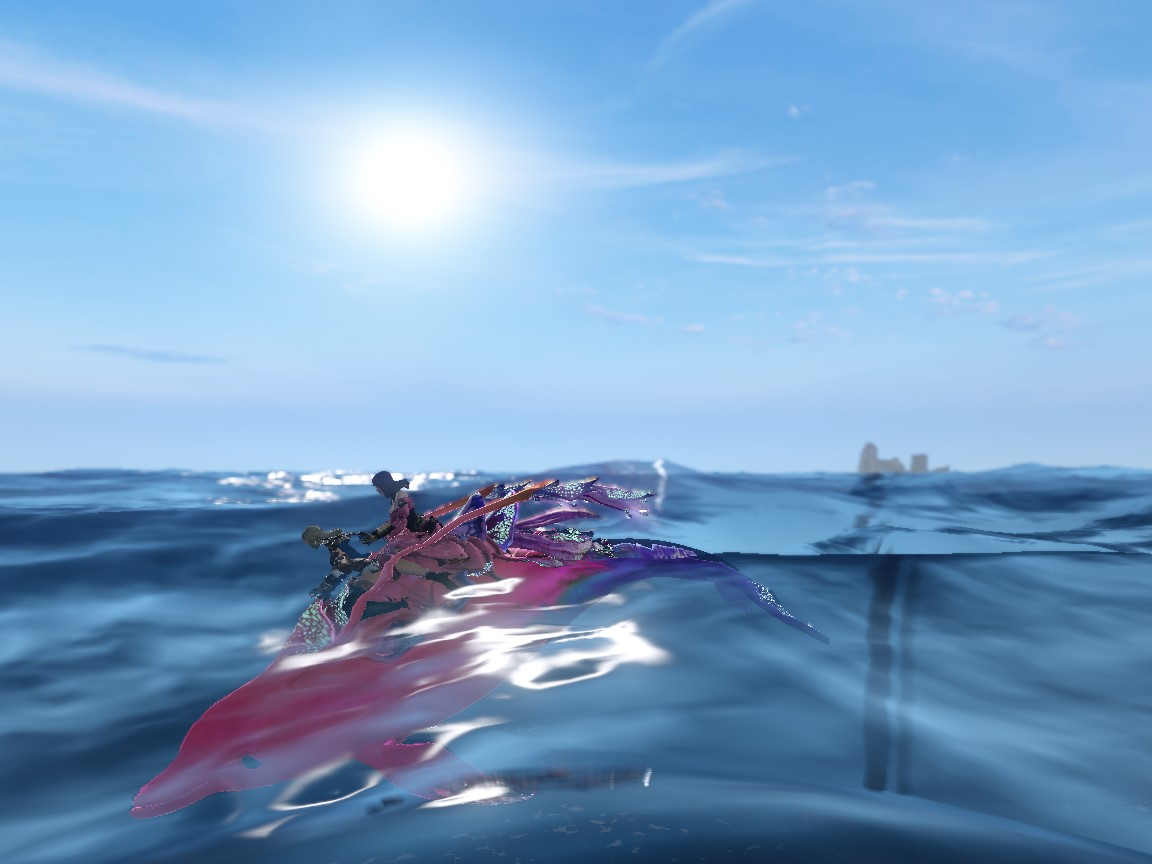 イルカとフレと1