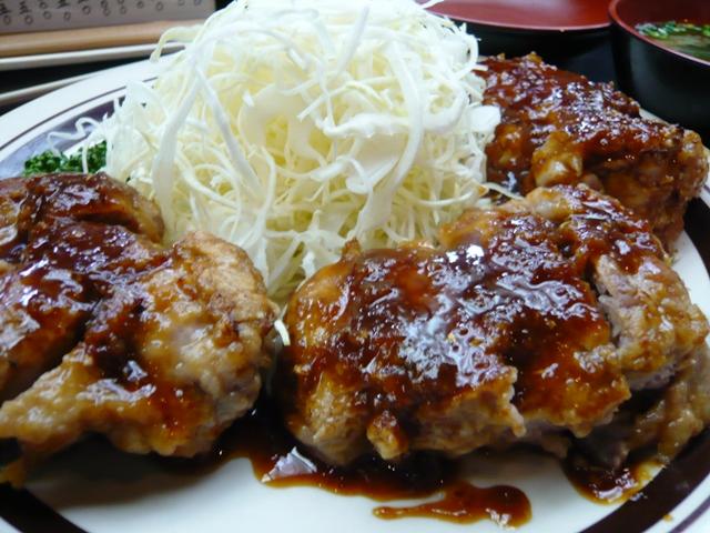 五郎十:ヒレ生姜焼き2