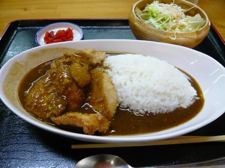鶏焼屋:チキンカツカレー1