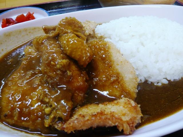 鶏焼屋:チキンカツカレー2