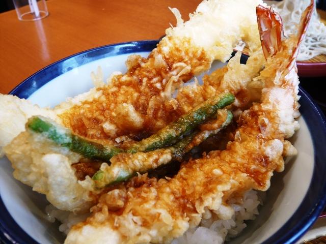 てんや:大海老穴子天丼&小そばセット2
