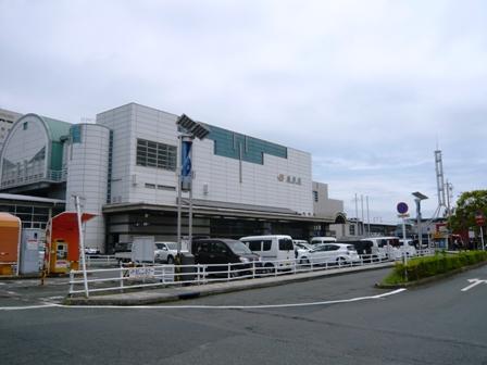 勢川:豊橋駅西口