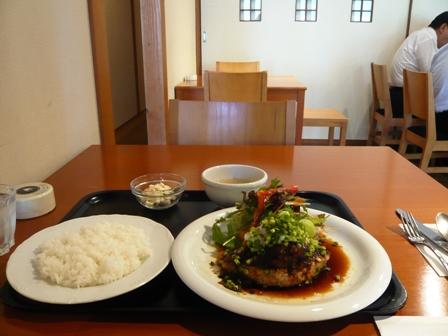 キッチンポット:和風ハンバーグランチ1