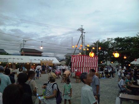 八坂神社まつり:まつり会場