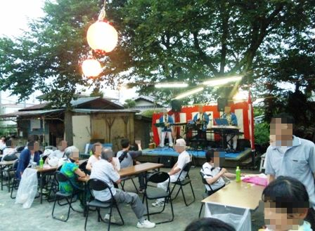 八坂神社まつり:歌謡ショー