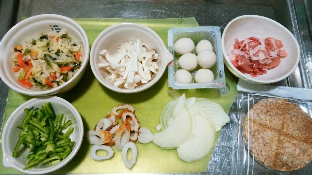 おこげ風野菜の中華あんかけの作り方1