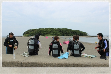 H28061902沖ノ島海底清掃