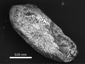 Zircon from Sudbury crater
