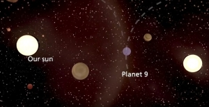 Planet 9 stolen by our sun