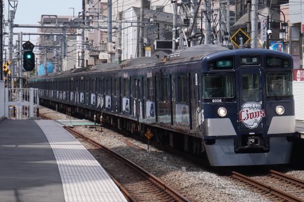 2016-04-09 西武9108F 準急池袋行き 4118レ
