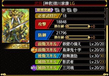 徳川LG鼓舞30