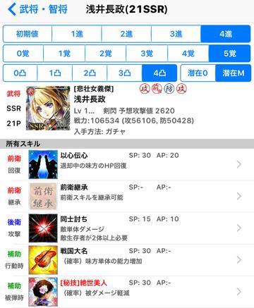 浅井長政SSR21