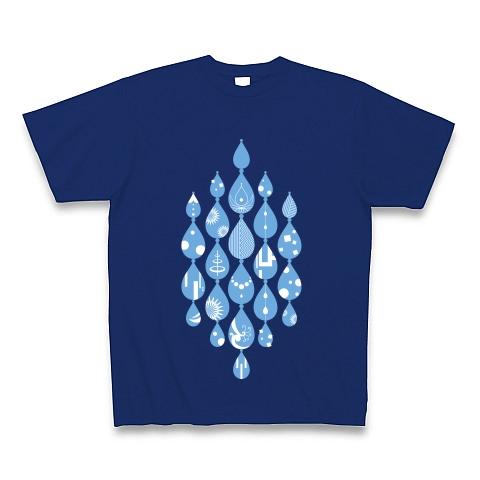 イマジネーションデザイン・涙-Water-Blue- Tシャツ