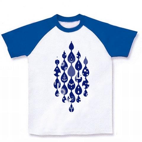イマジネーションデザイン・涙-Blue- Tシャツ