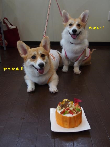 ケーキと一緒に1