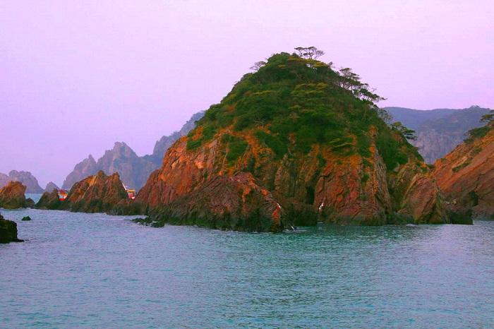 남해의 홍도 -11