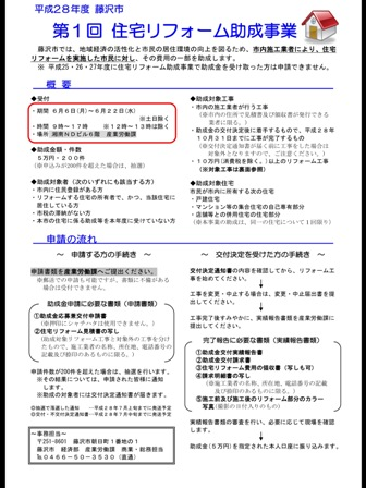 藤沢市助成事業