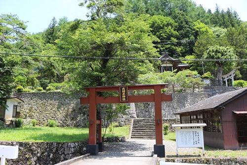 夫婦木神社鳥居 (2)
