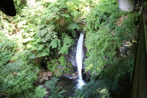 板敷渓谷白髪滝の滝