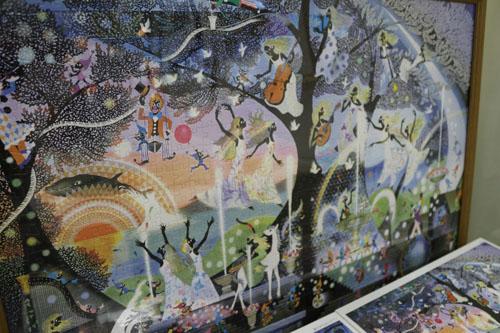 影絵の森美術館  パズル (1)