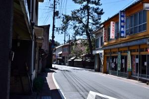 川本町の町並み