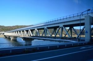 車内から見た新江川橋