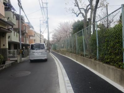 水路が歩道に整備1