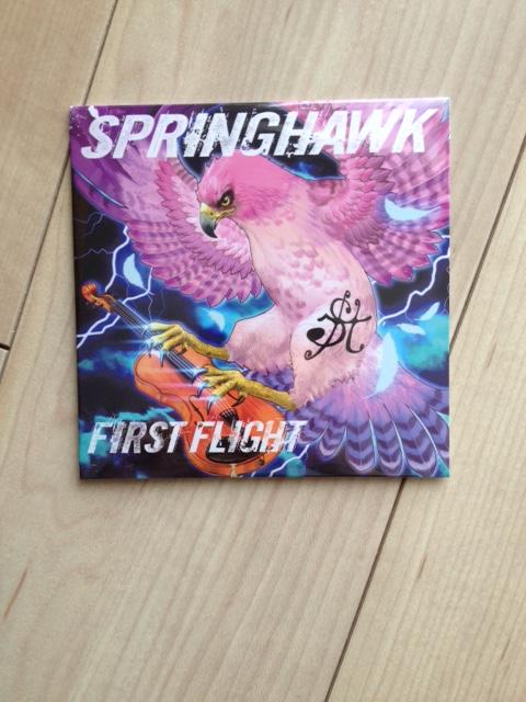 SPRINGHAWK FIRSTFLIGHT1