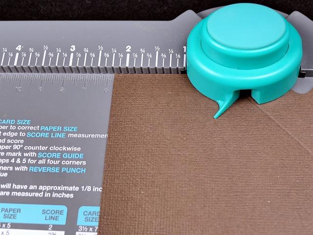 「6inペーパー ミニギフトボックス」の作り方