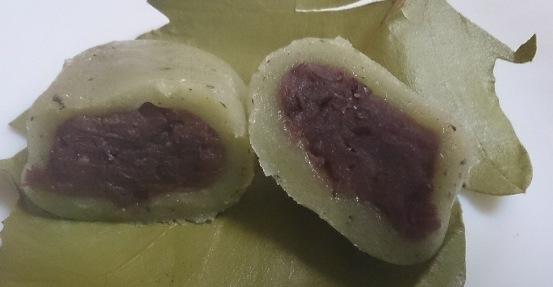 かしわ餅03