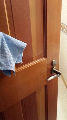 トイレの掃除ドア