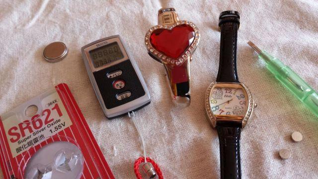 時計電池交換1