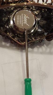節約自力で腕時計電池交換2