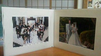 婚礼写真節約1