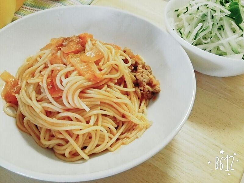 160520トマトパスタ
