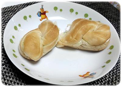 コンビニ スイーツ ローソン 菓子パン メロンパン ザクザクメロン デニッシュサンド2