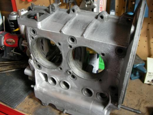RHエンジン清掃、磨き (5)