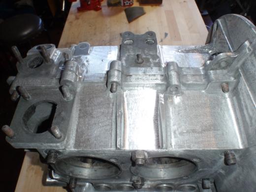 RHエンジン清掃、磨き (13)