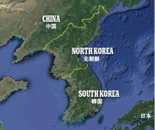 北朝鮮夜間2