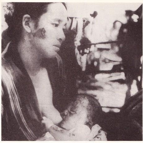 原爆投下と母子