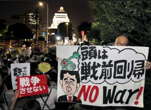 SEALDs戦前回帰1