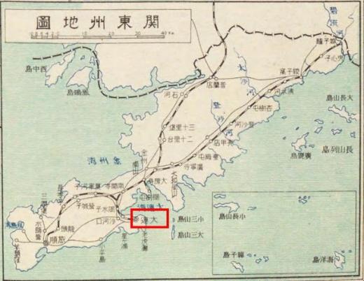 関東集地図_大連_北満洲概観1
