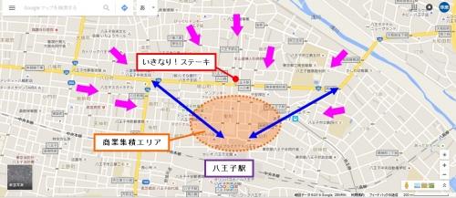 八王子北口商圏図2