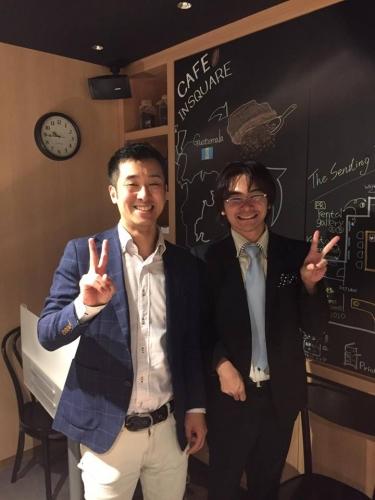 セミナー終了後に瀧澤さんとツーショット