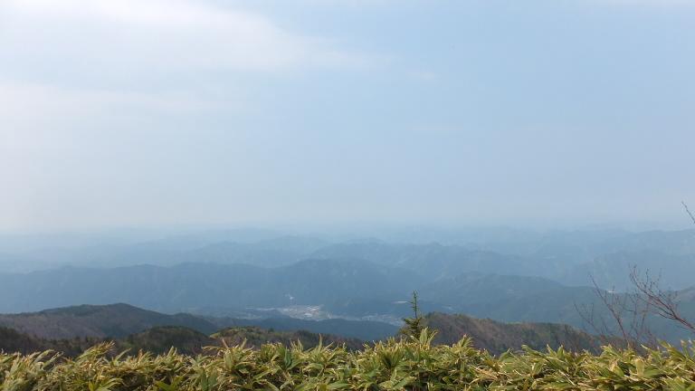箱岩山頂眺望