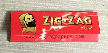 ZIG-ZAG_red ジグザグ・レッド 手巻きタバコ 巻紙 ローリングペーパー RYO ROLLING_TOBACCO