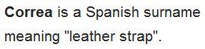 wikiCorrea (surname)
