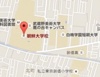 map武蔵野美術大学