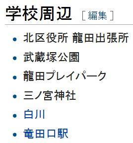 wiki熊本市立龍田中学校